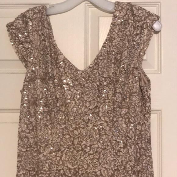David's Bridal Dresses & Skirts - Rose Gold Formal Dress